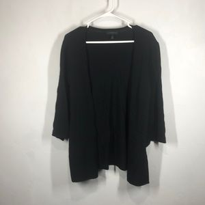 Lane Bryant black cardigan size 14/16